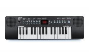 Die Vorderseite des Harmony 32 Keyboards