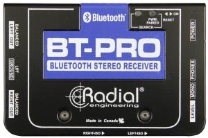 Hochwertiger Bluetooth Stereo Empfänger mit integrierter DI-Box