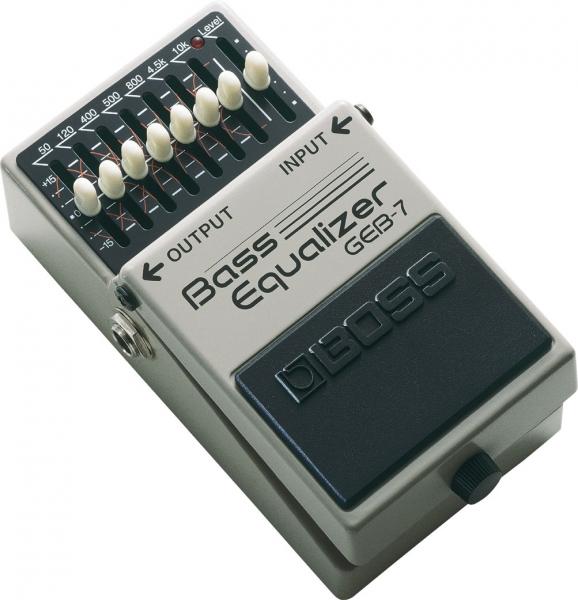 Boss GEB-7 7-Band Bass Equalizer
