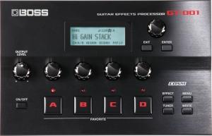 Boss GT-001 Gitarren-Multieffektgerät