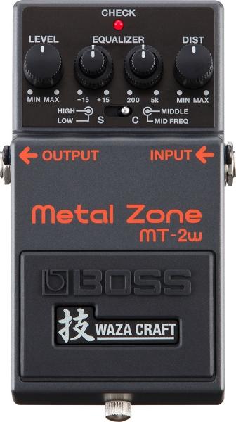 Boss MT-2W Distortion Pedal Waza