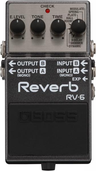 Boss RV-6 Reverbpedal
