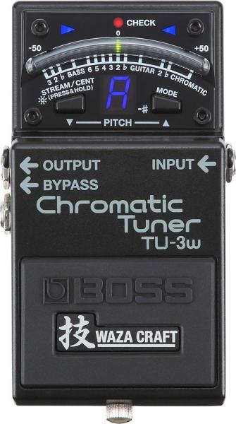Boss TU-3W Chromatic Tuner Wazacraft