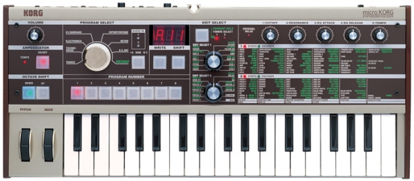 Korg KRMICRO Synthesizer