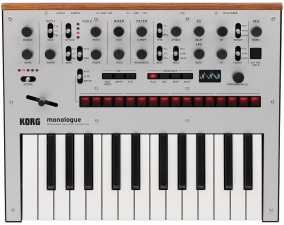 Korg Monolog Silver Analoger Synthesizer