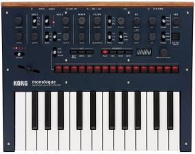 Korg Monologue Blue Synthesizer