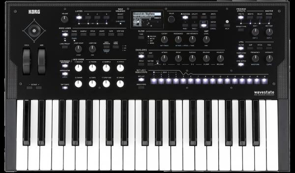 Der neue Synthesizer von Korg heiist Wavestate