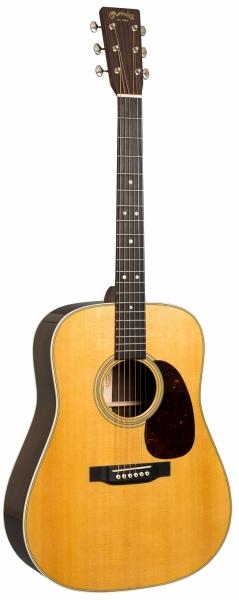 Die Martin D-28 Westerngitarre in Natur