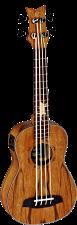 Die Ortega Bass Ukulele aus der Lizard Serie mit einem Griffbrett aus Jatoba Holz