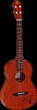 Dies ist eine Bariton Ukulele von Ortega aus der Bonfire Serie