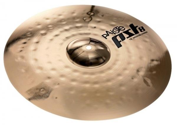 Paiste PST 8 Medium Crash Cymbal 16