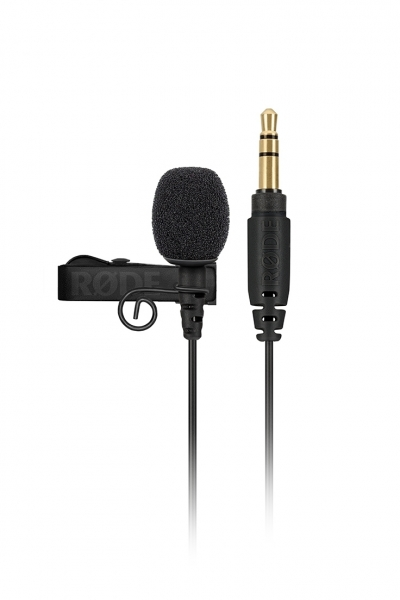 Das Ansteckmikrofon RODE Lavalier GO in schwarz