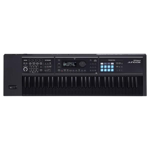 Der Roland Juno DS mit 61 schwarzen Tasten
