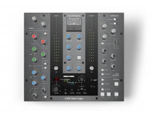 Der SSL UC1 Controller von vorne