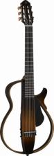 Yamaha Silent Guitar mit Nylon Saiten in der Farbe Tobacco Brown Sunburst