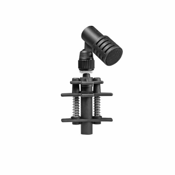 Schalagzeugmikrofon mit Klammer