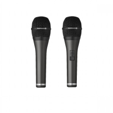 dynamisches Gesangsmikrofon mit und ohne Schalter