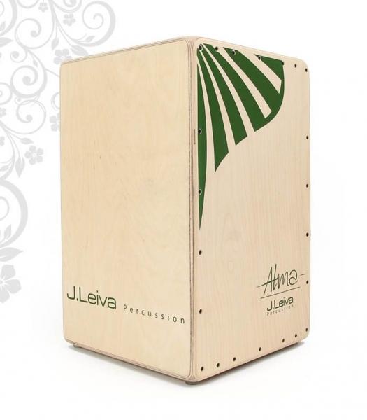 J.Leiva Percussion Cajon Serie Alma Green