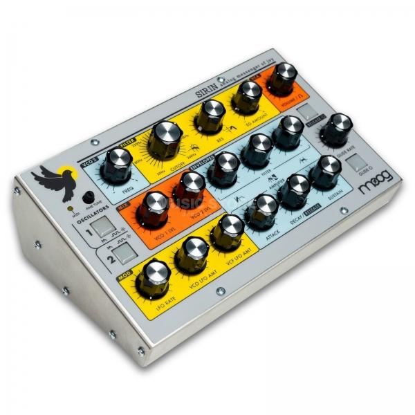 Der Moog Sirin ist ein auf 2500 Stück limitierter Analog Synthesizer