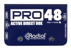 Radial Pro 48 aktive High-End DI-Box